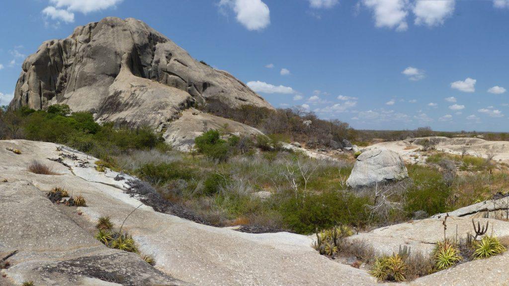 BR – Bare igneous rock and vegetation in the Quixeramobim area