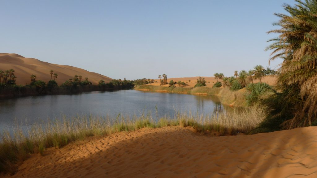 LY – Lake fed by groundwater in the Ubaru Sebha area SW Libya