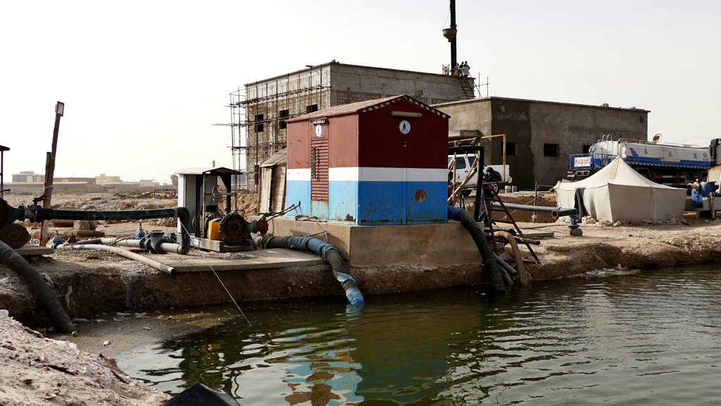 MR – Pumping station in Nouakchott to lower the groundwater level