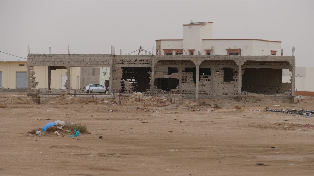 MR – Buildings ruined by the groundwater rise in Nouakchott