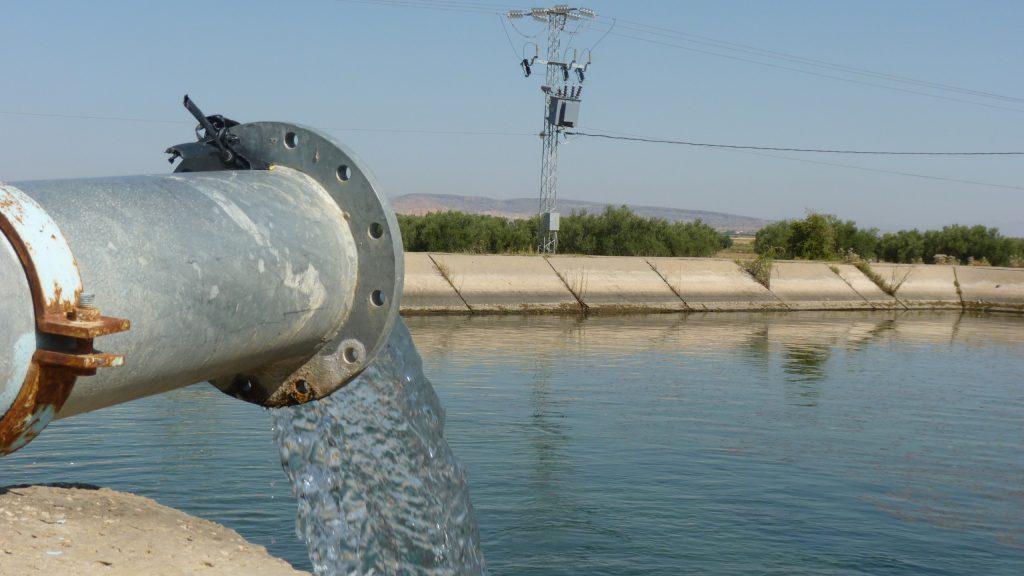 TN – Water tank for irrigation in the Kairouan plain