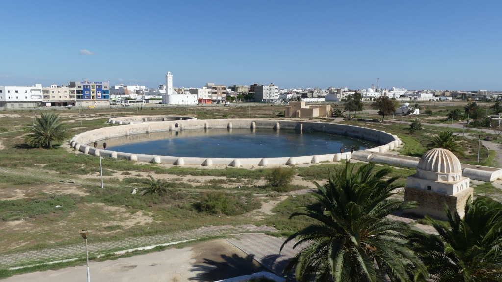 TN – The Aghlabides basin IX th cent. part of the antique-water supply system to the Kairouan city